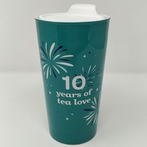 DAVIDsTEA 10 Year Anniversary Travel Tumbler Mug